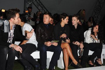 Nick Grimshaw Harry Styles LFW: Front Row at Fashion East