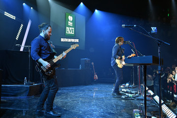 Nick Harmer Death Cab For Cutie Performs for iHeartRadio Live