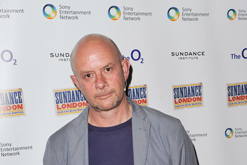 Nick Hornby Sundance London - Backstage At An Evening With Robert Redford And T Bone Burnett At Indig02