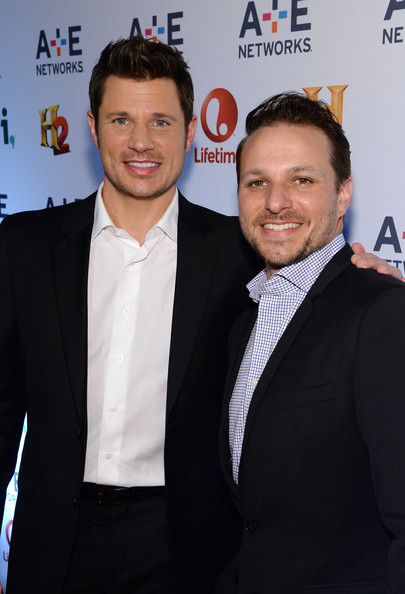 Nick Lachey - Arrivals at A+E Networks Upfront