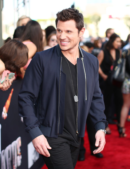 Nick Lachey - Arrivals at the MTV Movie Awards — Part 3