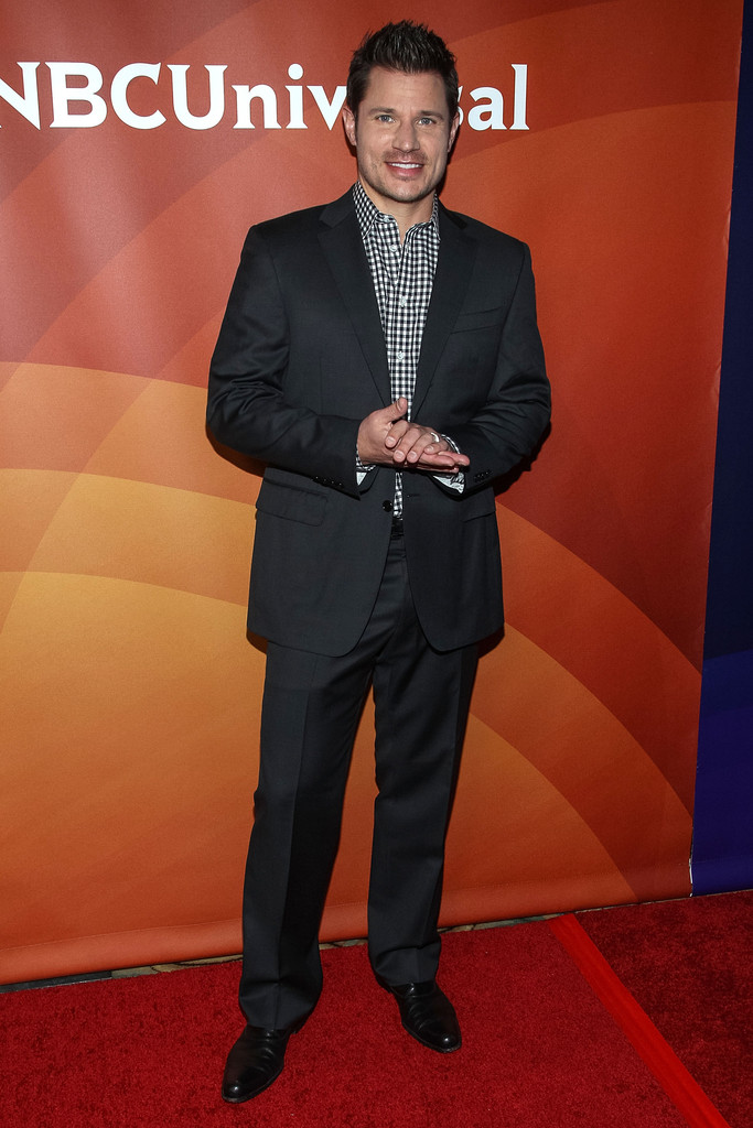 Nick Lachey - NBCUniversal Summer Press Day
