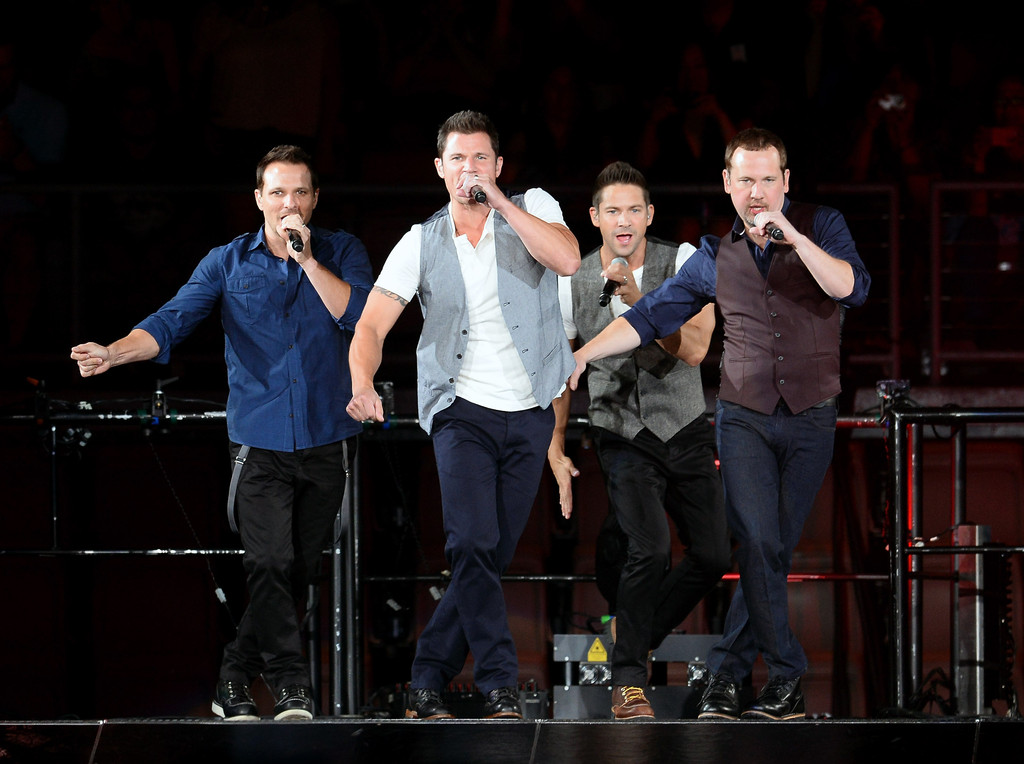 Nick Lachey - New Kids On The Block, 98 Degrees, Boyz II Men In Concert