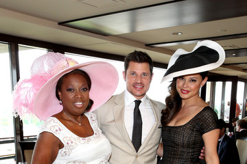 Nick Lachey 141st Kentucky Derby - Green Room