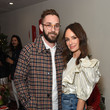 Nick Lakind Best Buds Holiday Party With Kacey Musgraves And Flower By Edie Parker Flower
