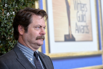 Nick Offerman 2014 Writers Guild Awards L.A. Ceremony - Red Carpet