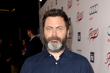 Nick Offerman Premiere of FX's 'Fargo' Season 2 - Red Carpet