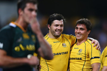 Nick Phibbs Australia v South Africa: The Rugby Championship