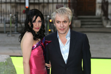 Nick Rhodes Nefer Suvio Arrivals at the Royal Academy of Arts Summer Exhibit