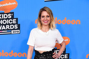 Candace Cameron Bure attends Nickelodeon's 2018 Kids' Choice Awards at The Forum on March 24, 2018 in Inglewood, California.