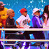 Shay Haley Photos - (L-R) Shay Haley, Pharrell Williams and Chad Hugo perform onstage at Nickelodeon's 2018 Kids' Choice Awards at The Forum on March 24, 2018 in Inglewood, California. - Nickelodeon's 2018 Kids' Choice Awards - Show