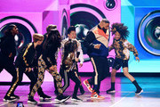 DJ Khaled performs onstage at Nickelodeon's 2019 Kids' Choice Awards at Galen Center on March 23, 2019 in Los Angeles, California.