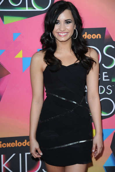 Actress/singer Demi Lovato arrives at Nickelodeon's 23rd Annual Kids' Choice Awards held at UCLA's Pauley Pavilion on March 27, 2010 in Los Angeles, California.