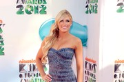 Wrestler Kelly Kelly attends Nickelodeon's 25th Annual Kids' Choice Awards  held at Galen Center on March 31, 2012 in Los Angeles, California.