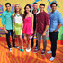 Cameron Jebo Photos - (L-R) Actors Azim Rizk, Ciara Hanna, Christina Masterson, Cameron Jebo, Andrew Gray, and John Mark Loudermilk of Mighty Morphin Power Rangers attend Nickelodeon's 27th Annual Kids' Choice Awards held at USC Galen Center on March 29, 2014 in Los Angeles, California. - Nickelodeon's 27th Annual Kids' Choice Awards - Arrivals