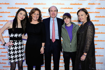 Philippe Dauman Cyma Zarghami Nickelodeon Hosts 2010 Upfront Presentation - Backstage