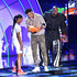 Nick Cannon Stephen Curry Photos - NBA player Stephen Curry (C) accepts the Clutch Player of the Year award from Little League Baseball player Mo'ne Davis (L) and tv personality Nick Cannon (R) onstage at the Nickelodeon Kids' Choice Sports Awards 2015 at UCLA's Pauley Pavilion on July 16, 2015 in Westwood, California. - The Nickelodeon Kids' Choice Sports Awards 2015