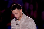 NBA player Stephen Curry accepts the Sickest Moves award onstage at the Nickelodeon Kids' Choice Sports Awards 2015 at UCLA's Pauley Pavilion on July 16, 2015 in Westwood, California.