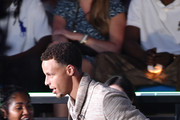 NBA player Stephen Curry accepts the Clutch Player of the Year award during the Nickelodeon Kids' Choice Sports Awards 2015 at UCLA's Pauley Pavilion on July 16, 2015 in Westwood, California.