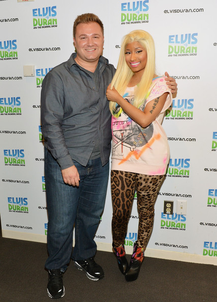 Nicki Minaj - Nicki Minaj Visits Elvis Duran & The Morning Zoo