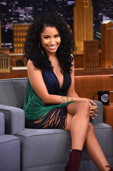 Nicki Minaj Visits 'The Tonight Show'