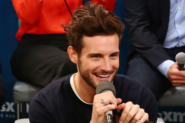 Nico Tortorella The Cast of 'Younger' Visits the SiriusXM Studios