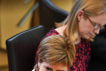 Nicola Sturgeon Scotland's First Minister Delivers Her Programme For Government