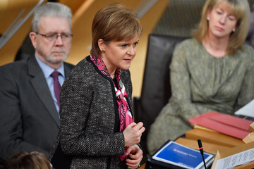 Nicola Sturgeon Scottish Government Announces Plan To Stay In The Single Market Post Brexit