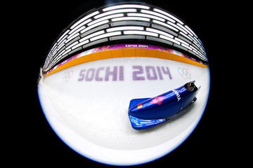 Nicolae Istrate Bobsleigh - Winter Olympics Day 9