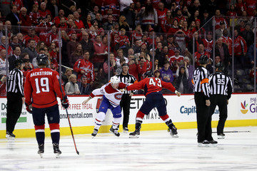 Nicolas Deslauriers Montreal Canadiens v Washington Capitals