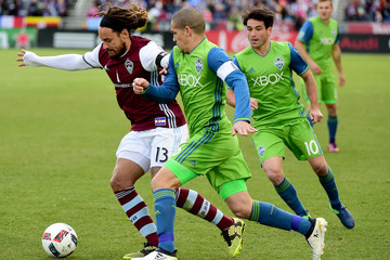 Nicolas Lodeiro Seattle Sounders v Colorado Rapids - Western Conference Finals - Leg 2
