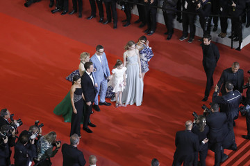 Nicolas Winding Refn Liv Corfixen 'Too Old To Die Young' Red Carpet - The 72nd Annual Cannes Film Festival