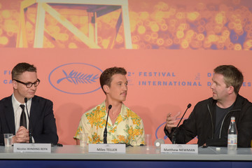 Nicolas Winding Refn Miles Teller 'Too Old To Die Young' Press Conference - The 72nd Annual Cannes Film Festival