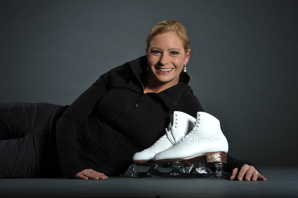2011 Caesars Tribute II Portraits [sitting,footwear,shoe,photography,leg,portrait,flash photography,portrait photography,photo shoot,smile,caesars tribute ii: a salute to the ladies of the ice,caesars tribute ii portraits,atlantic city,boardwalk hall,new jersey,nicole bobek]