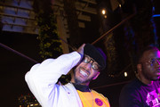 Swizz Beatz attends Nicole & DJ Khaled's Birthday Celebration With Haute Living And Roger Dubuis at Perez Art Museum Miami on December 9, 2018 in Miami, Florida.