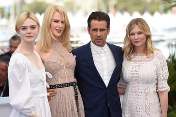 Nicole Kidman Elle Fanning 'The Beguiled' Photocall - The 70th Annual Cannes Film Festival
