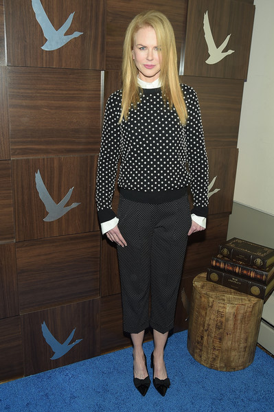 "GREY GOOSE Blue Door Hosts ""Strangerland"" Party at Sundance - 2015 Park City [clothing,suit,fashion,blond,formal wear,footwear,dress,long hair,outerwear,pattern,grey goose blue door hosts ``strangerland party,nicole kidman,park city,utah,sundance - 2015,sundance]"