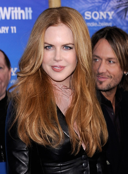 """Nicole Kidman Actress Nicole Kidman attends the premiere of """"Just Go With It"""" at Ziegfeld Theatre on February 8, 2011 in New York City."""