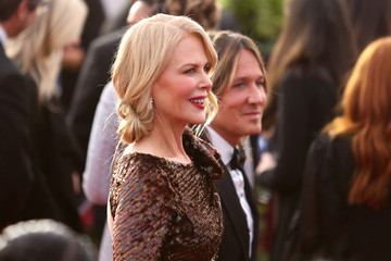 Nicole Kidman Keith Urban 24th Annual Screen Actors Guild Awards - Fan Bleachers
