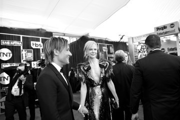 Nicole Kidman Keith Urban The 23rd Annual Screen Actors Guild Awards - Red Carpet