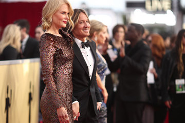 Nicole Kidman Keith Urban 24th Annual Screen Actors Guild Awards - Red Carpet