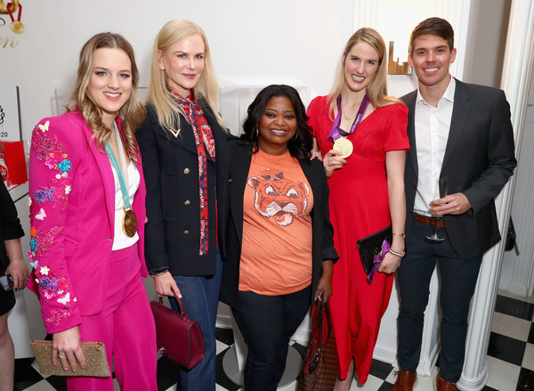 """Coca-Cola Presents The 6th Annual """"Gold Meets Golden"""" Brunch, Hosted By Nicole Kidman And Nadia Comaneci"""