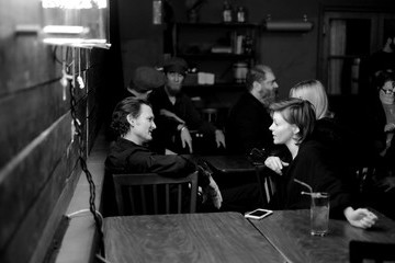 Nicole LaLiberte Showtime Opens 'Twin Peaks' Roadhouse Pop Up And Red Room Gift Shop
