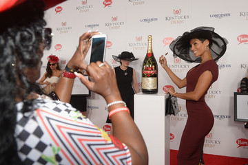 Nicole Murphy Moet & Chandon Toasts The 140th Kentucky Derby