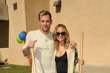 Nicole Richie Nicole Richie and Joel Madden Ribbon Cutting for Beyond Shelter Playground