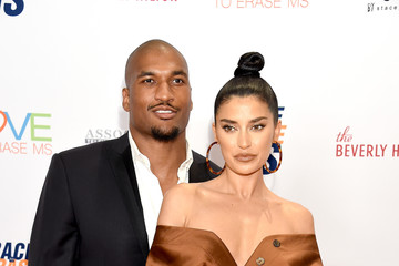 Nicole Williams Larry English 26th Annual Race To Erase MS Gala - Arrivals
