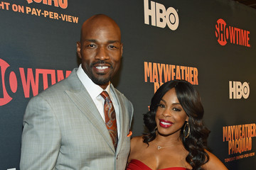 Niecy Nash Jay Tucker SHOWTIME and HBO VIP Pre-Fight Party For 'Mayweather VS Pacquiao'