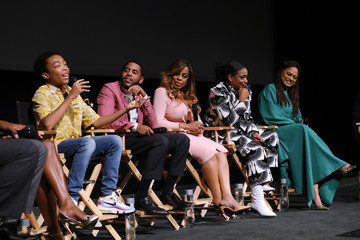 Niecy Nash Jharrel Jerome FYC Event For Netflix's 'When They See Us' - Panel