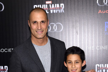 Nigel Barker The Cinema Society With Audi & FIJI Host a Screening of Marvel's 'Captain America: Civil War'- Arrivals