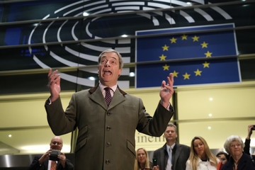 Nigel Farage European Best Pictures Of The Day - January 30
